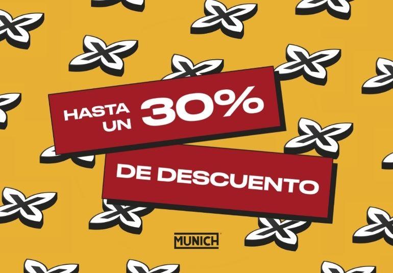 Hasta 30% de descuento en zapatillas y hasta un 40% en outlet en Munich.