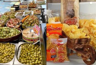 Recopilación de ofertas en patatillas, encurtidos y otros aperitivos en el Corte Inglés
