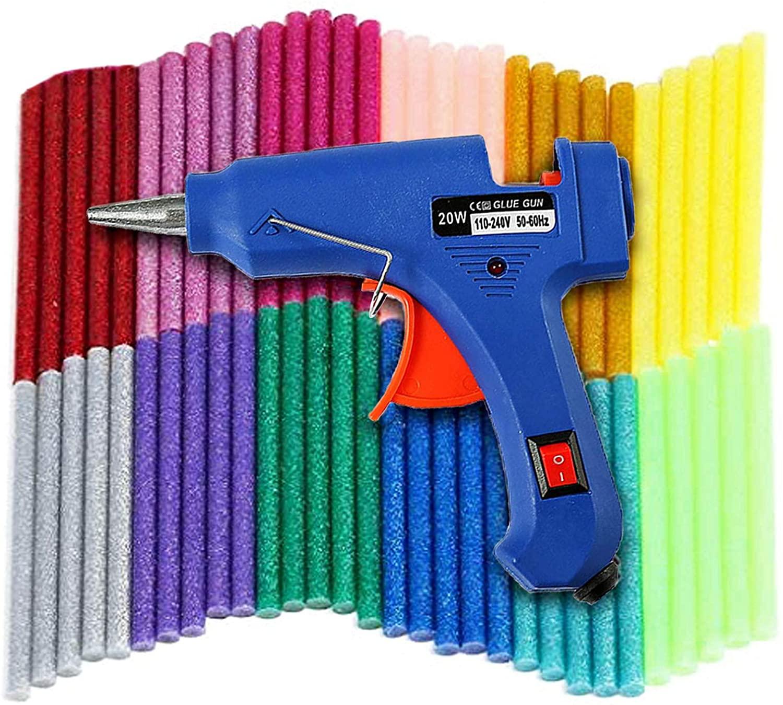 Pistola Silicona 20W + 60 barras solo 7.9€