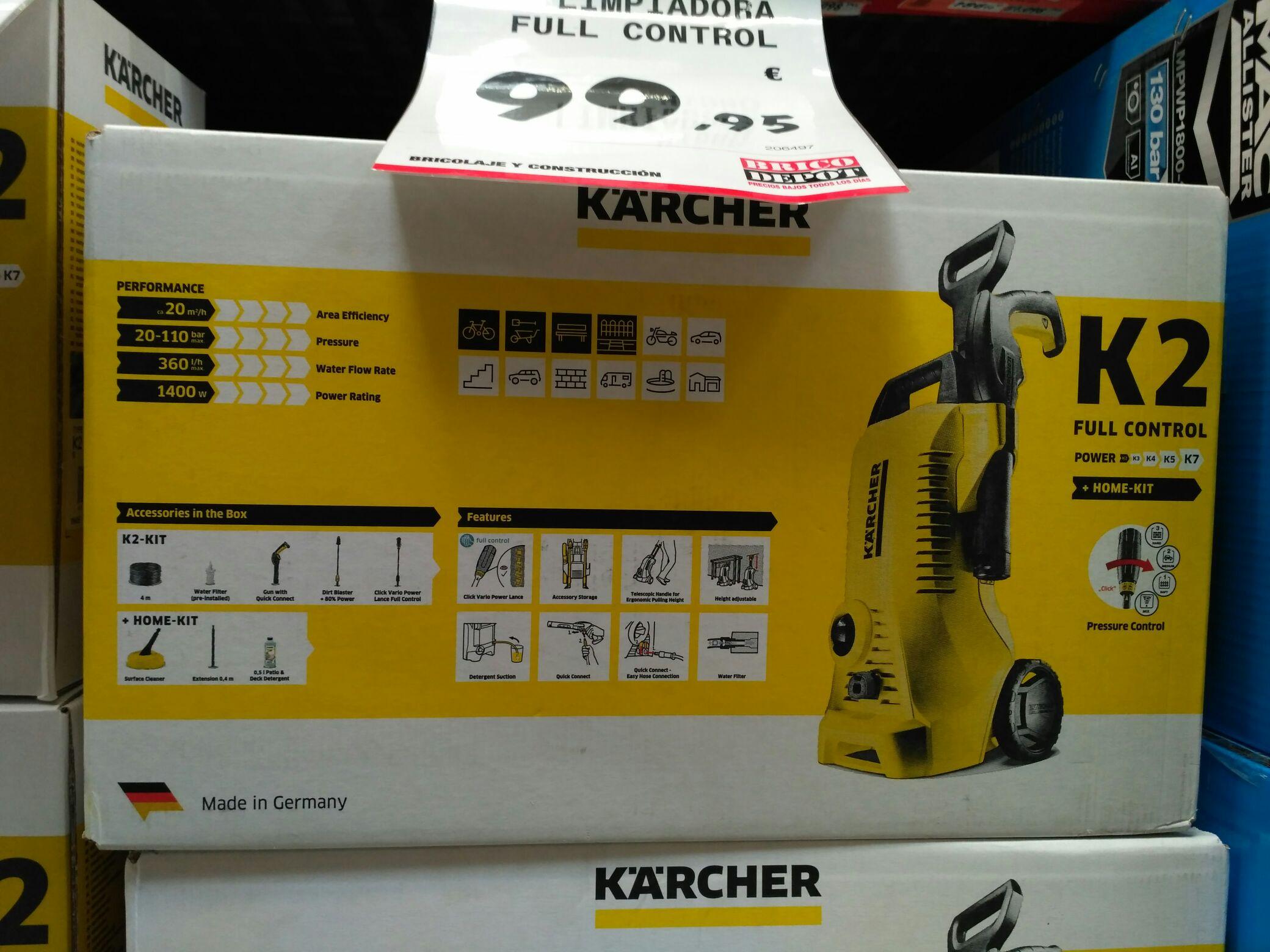 Kärcher K2 Full Control + home kit