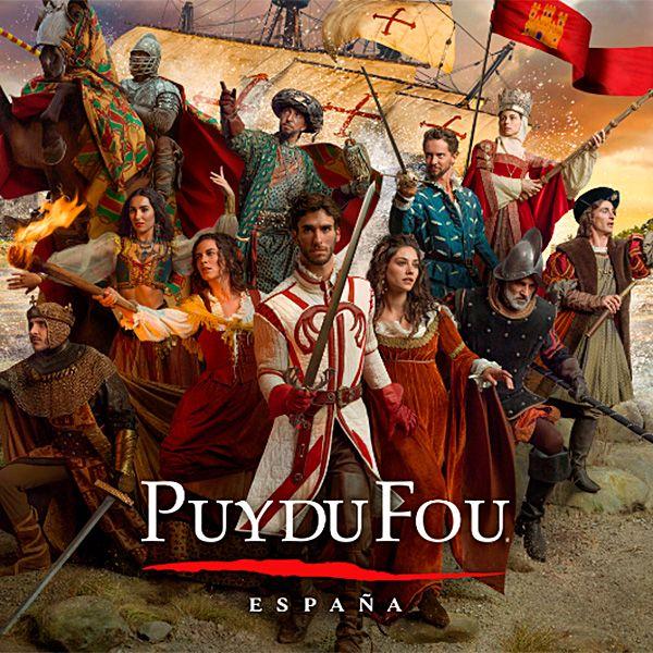 Entradas al parque PuyduFou (Toledo) + Noche de Hotelazo 5* + Desayunos desde solo 56€/N (PxPm2)