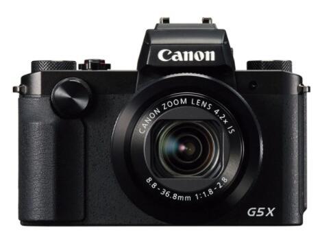 Cámara compacta Canon PowerShot G5 X Negra 20,2 MP