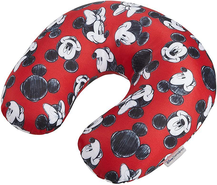 Samsonite Almohada de Viaje, 32 cm, Rojo (Mickey/Minnie Red)