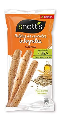 Snatt's Grefusa Palitos de Trigo Integrales con Pipas, 55g