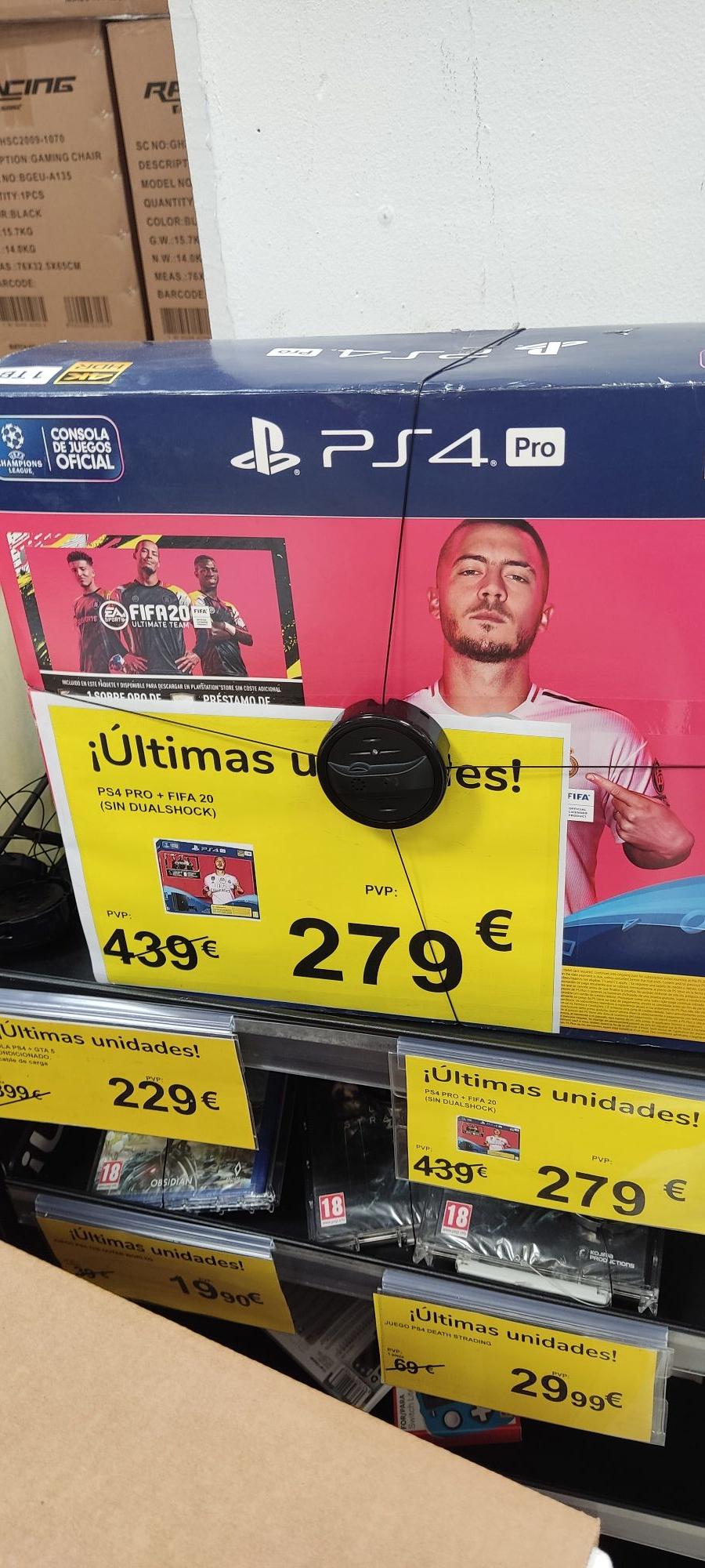PS4 Pro 1tb FIFA 20