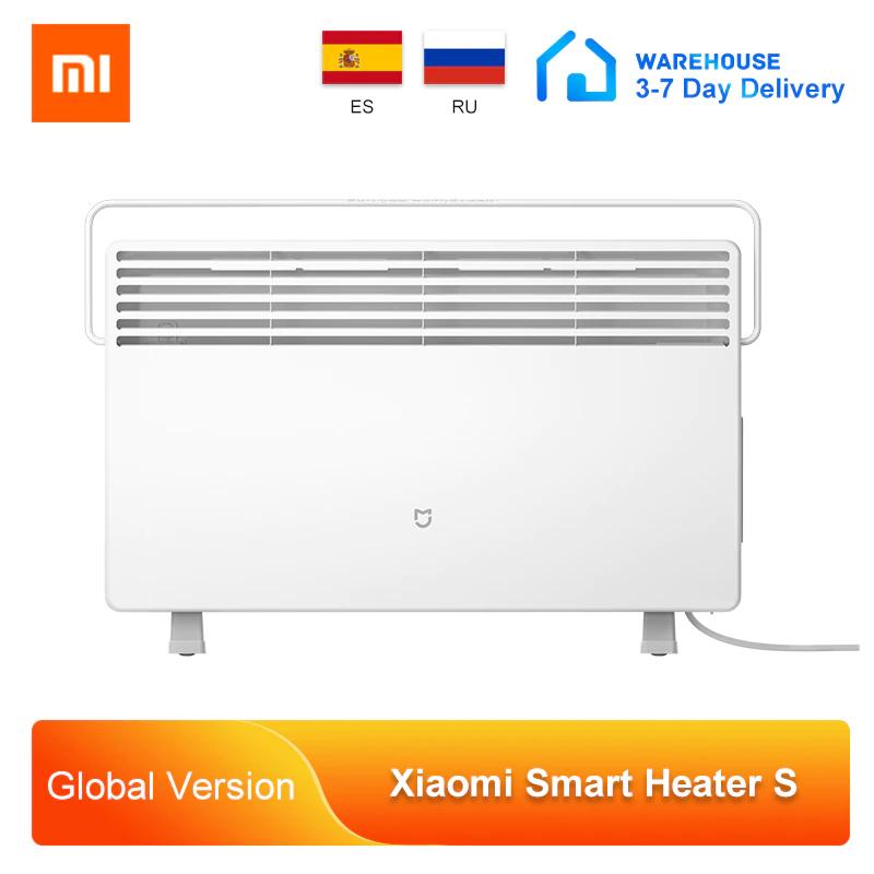 Calefactor Xiaomi Mi Smart Space Heater S desde España (si tienes cupones, 41€)