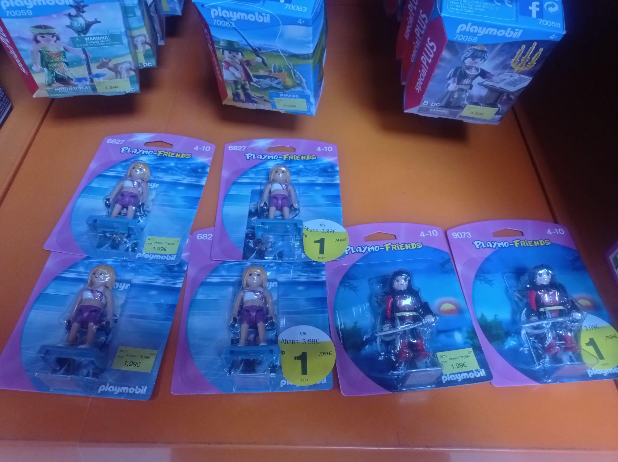 Playmofriends 2€ tienda Drim L'Illa Barcelona