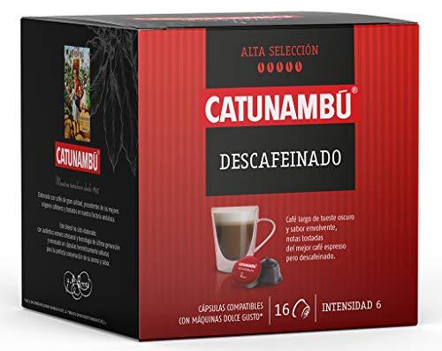 Catunambú - Cápsulas de café Descafeinado (80 cápsulas) 0,168€/ud