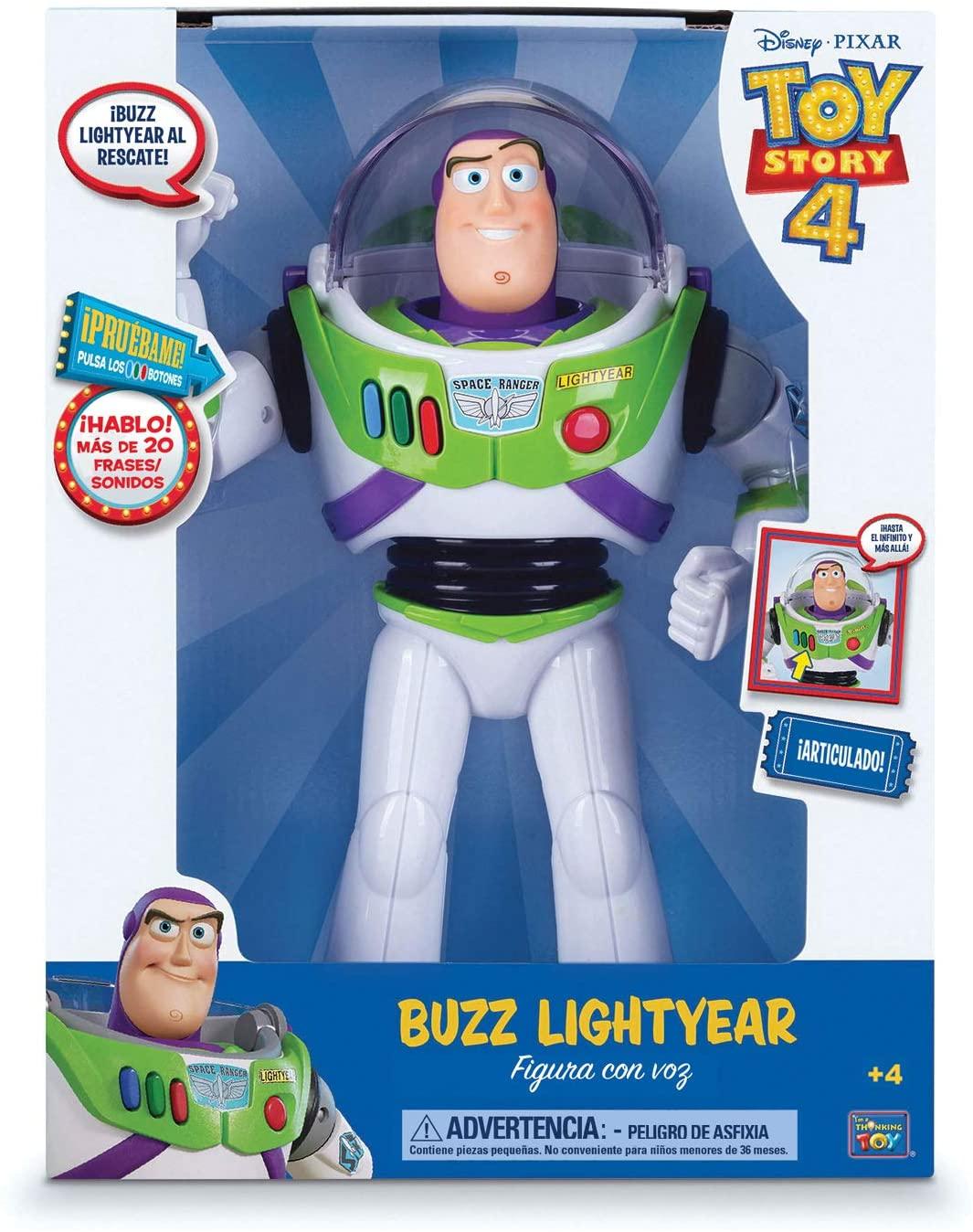 Toy Story 4 Buzz Lightyear solo 19.9€