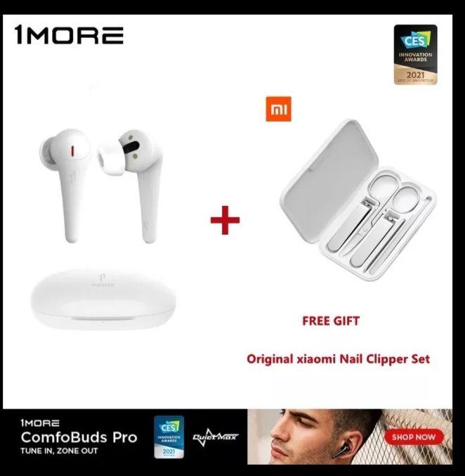 1More ComfoBuds Pro + set Xiaomi Mija clipper suit