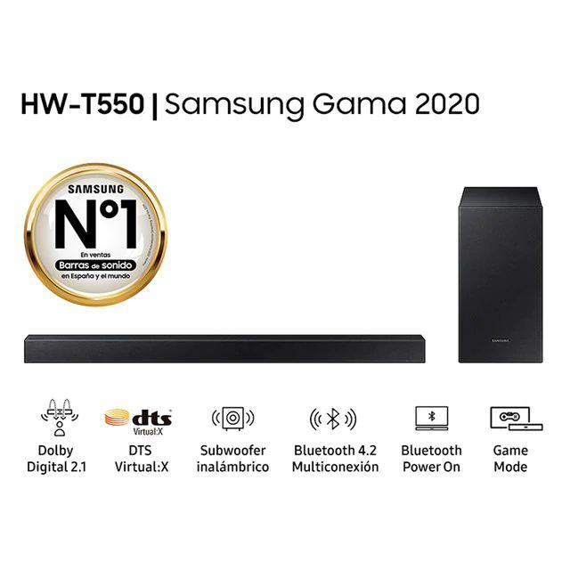 Barra de Sonido HW-T550 Dolby Digital DTS Virtual 2.1 (2020)