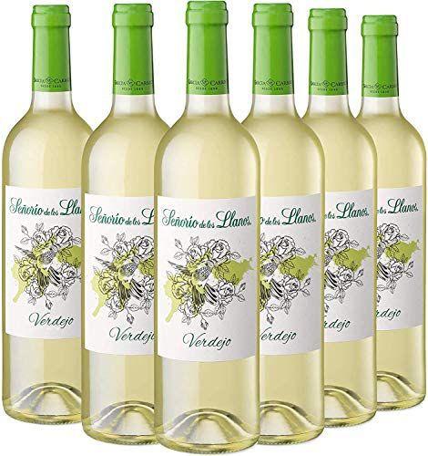 Señorío de los Llanos Verdejo - Vino Blanco - Caja de 6 Botellas x 750 ml