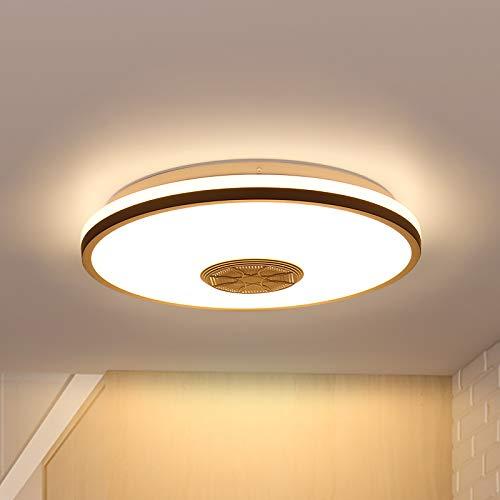 Plafón de techo LED 36w RGB con altavoz bluetooth