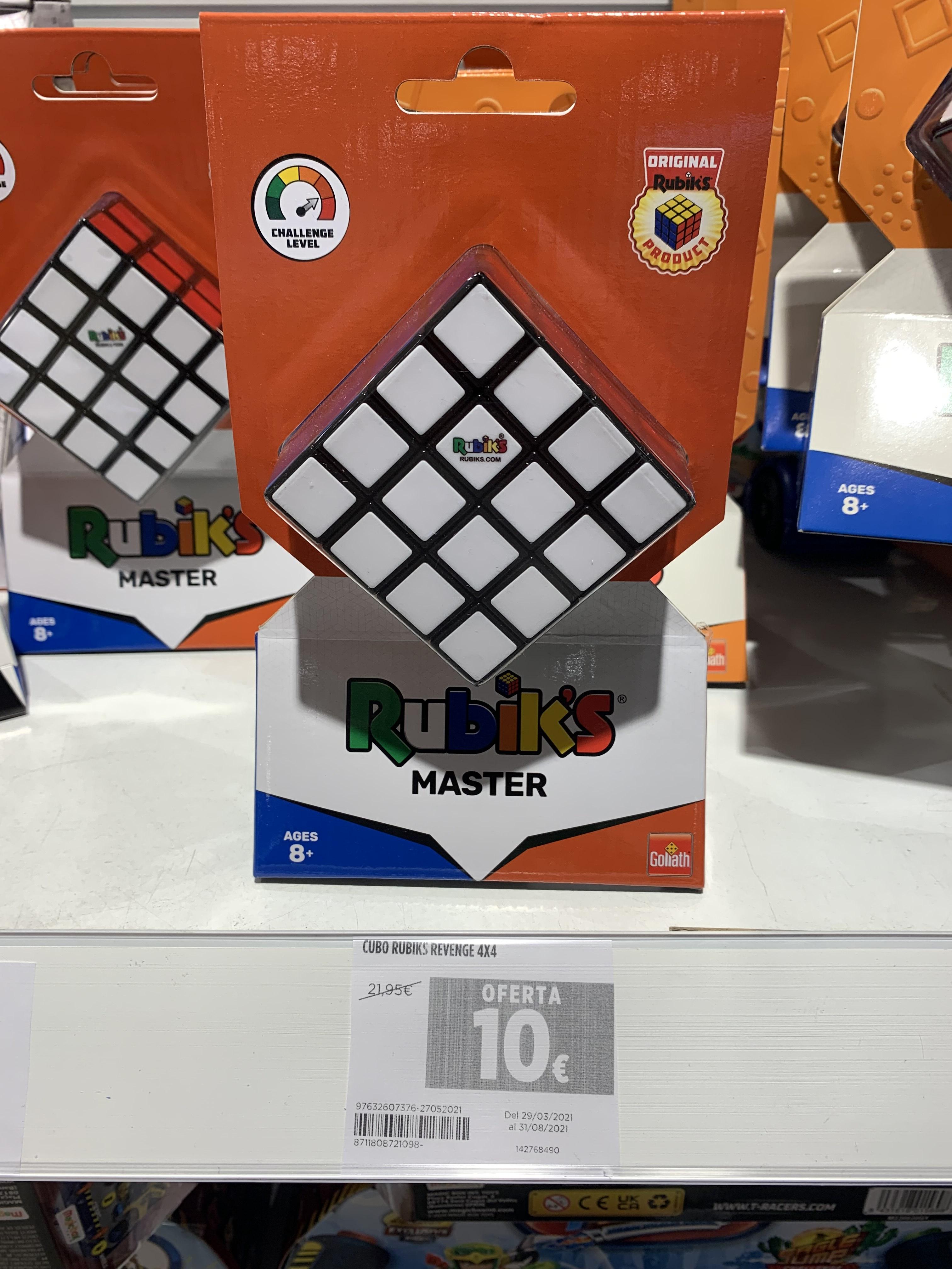 Cubo rubik's revenge 4x4 (El Corte Inglés Cornellá)