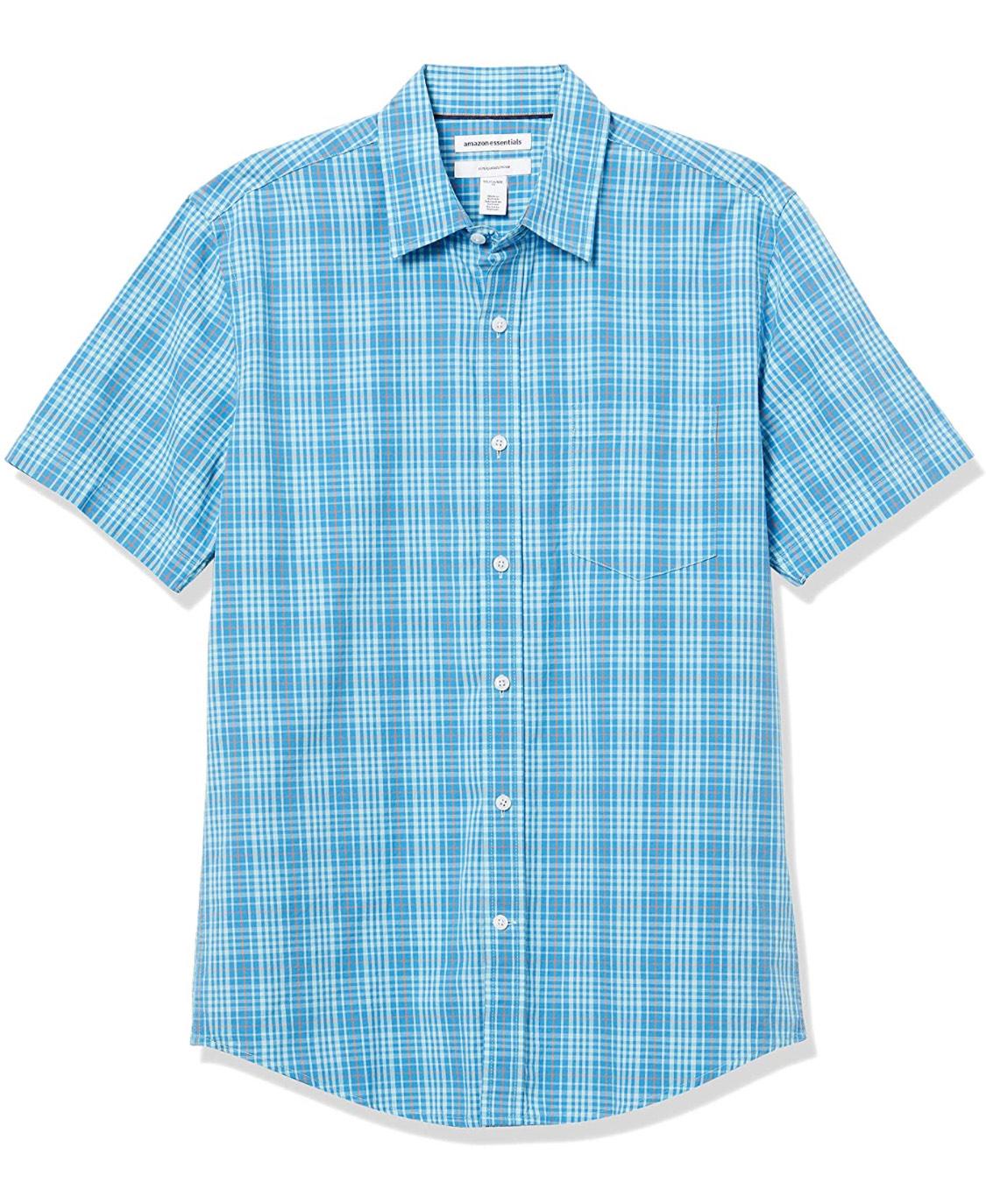 Camisa de cuadros hombre T.S