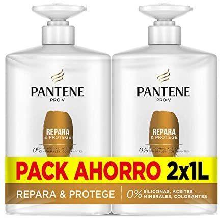Pantene Champu, Repara Y Protege, 2 x 1 litro,