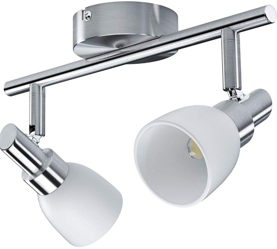 Lámpara de pared o techo LED - Plafón con Focos Giratorios (+Opciones Descripción)