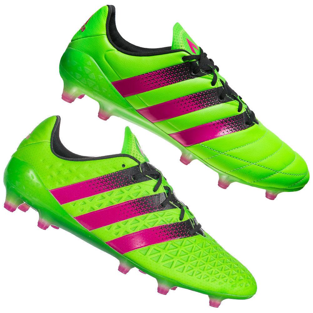 Adidas Ace 16.1 FG señores fútbol outdoor botas de fútbol verde af5099 af5083 nuevo