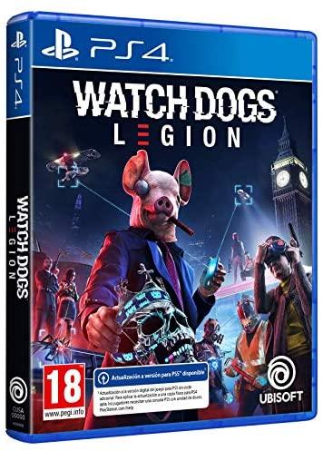 Watch Dogs Legion mismo precio en PS4/PS5 - Amazon/Mediamarkt