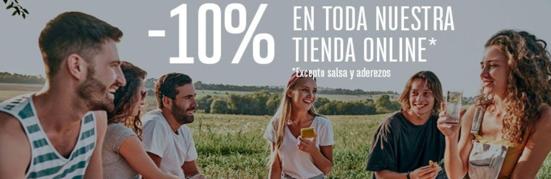 10% descuento en Iberitos