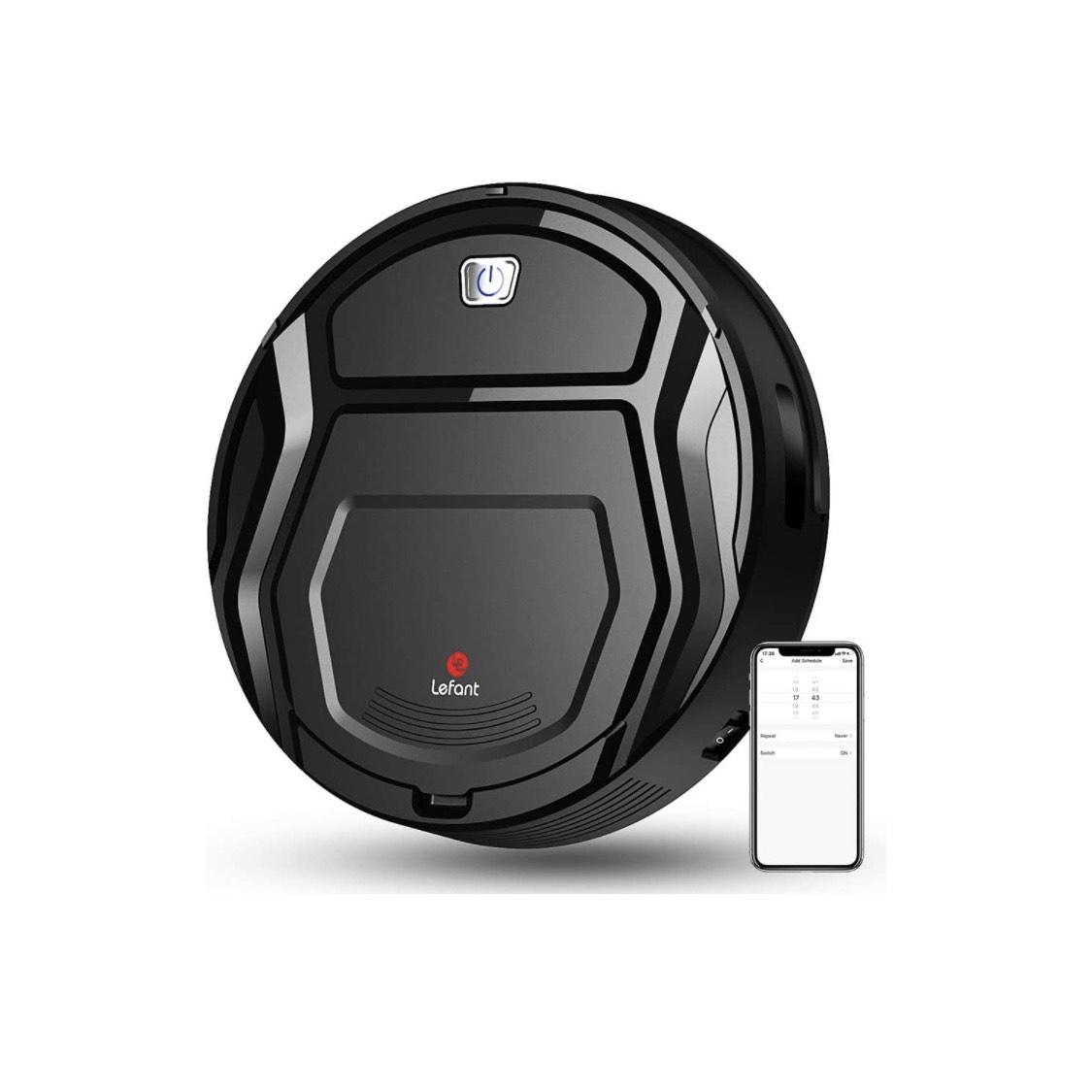LEFANT Robot Aspirador 1800Pa   Cupón -60€