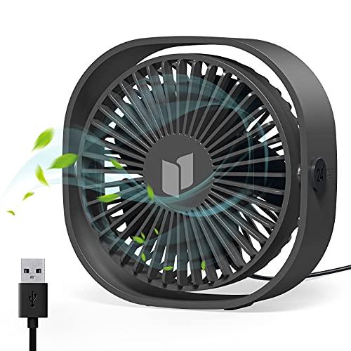 Ventilador USB Silencioso 3 Velocidades, por 9,98€