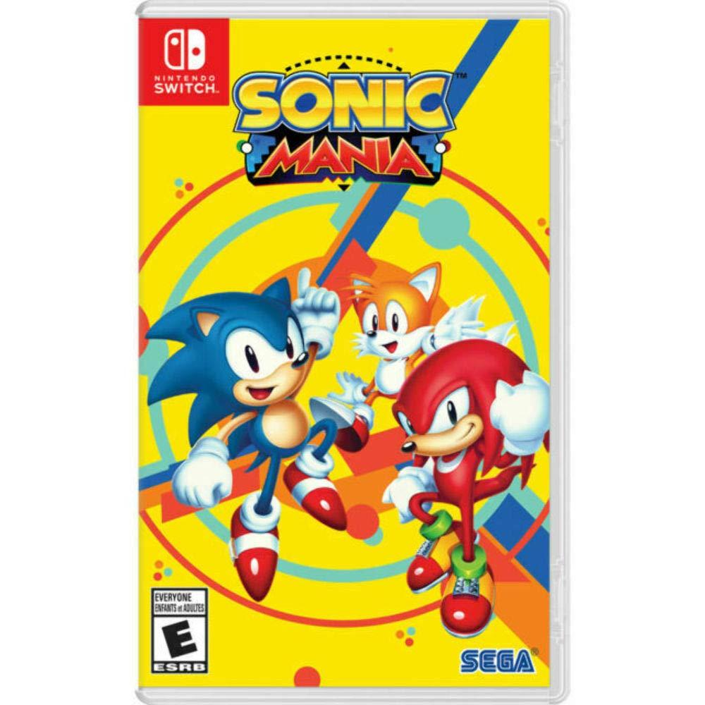 Sonic Mania - Nintendo Switch [CODE IN BOX]