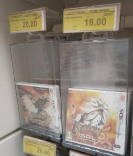 Pokemon Nintendo 3ds (varios títulos) alcampo local