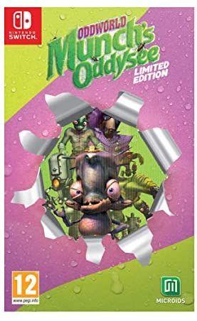 Oddworld Munch's Oddysee - Edición Limitada [Nintendo Switch]