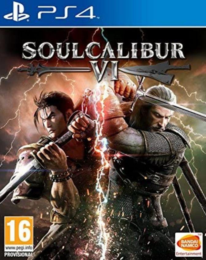 Soulcalibur VI PS4 FÍSICO