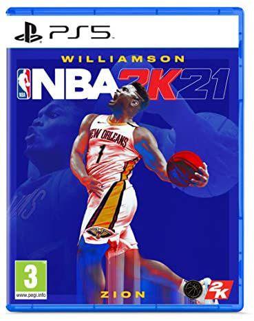 NBA 2K21 PS5 formato físico en Mediamarkt