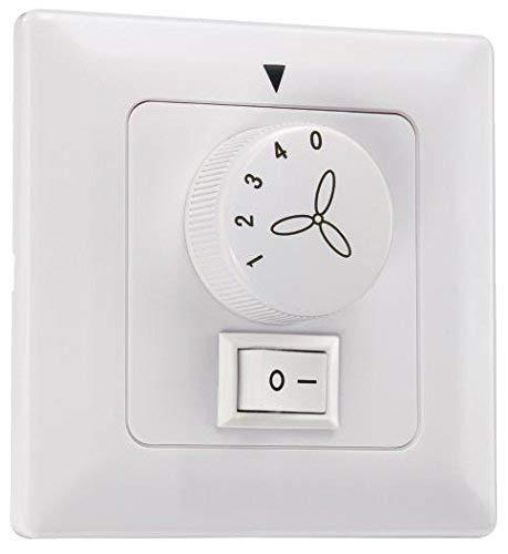Control de Pared para Ventilador y Luz [Reaco]