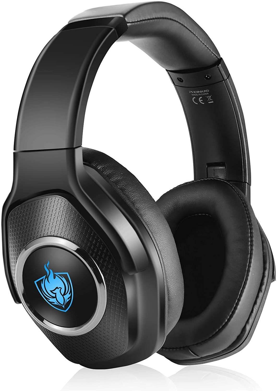 Auriculares Inalámbricos Bluetooth Plegables PS4, Xbox One, PC, baja latencia