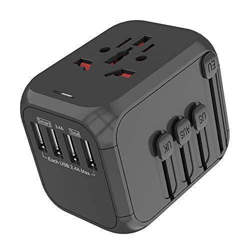 Adaptador de viaje 4x USB 3.4A solo 4.3€