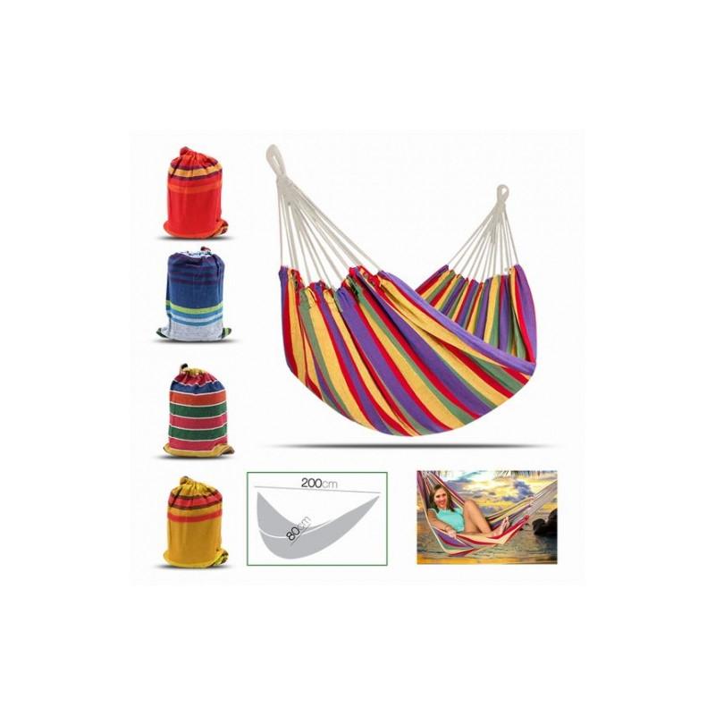 Hamaca Colgante Multicolor (fácil De Transportar)