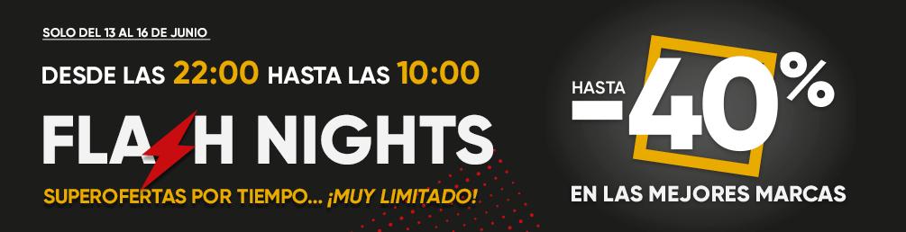 Flash Nights en Fnac: ofertas hasta 40% de 22h a 10h