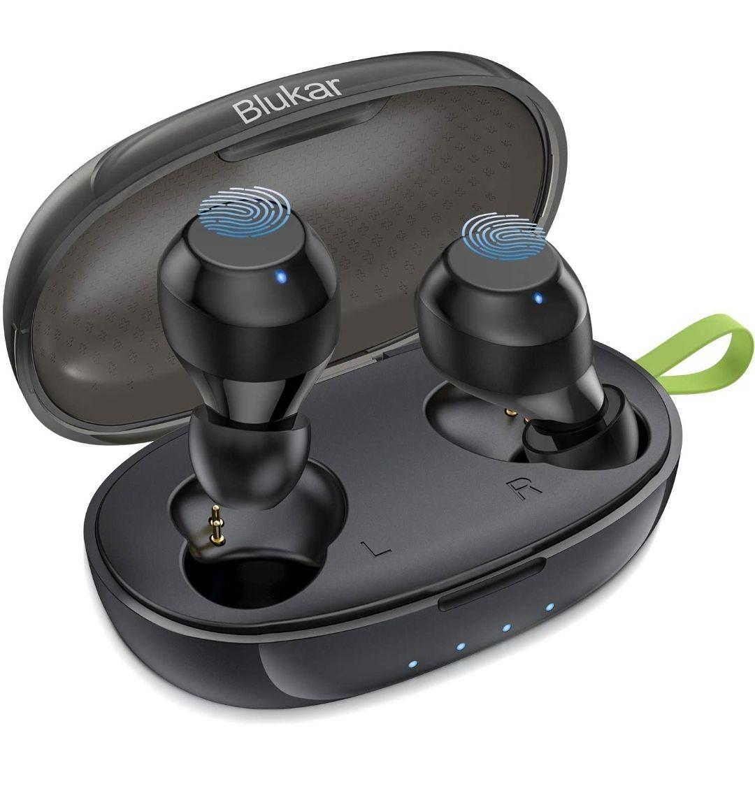 Blukar Auriculares Bluetooth 5.0