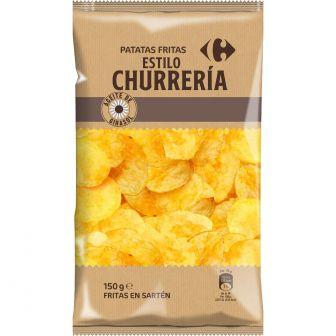 Patatas fritas churrería sin gluten y sin lactosa 150 g.