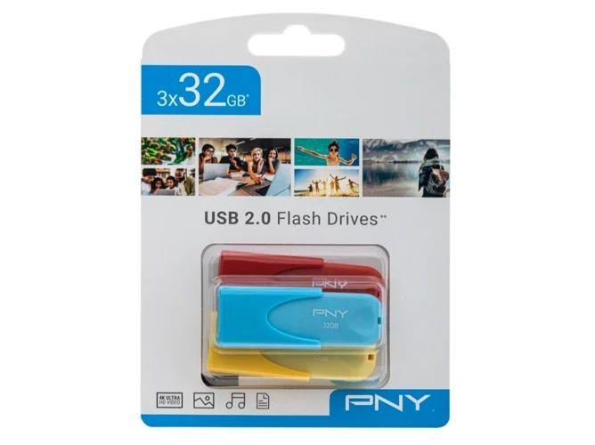3 x 32GB Pendrive PNY 2.0