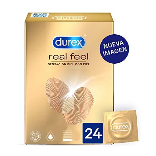 Durex Preservativos Sensitivos Real Feel - 24 condones