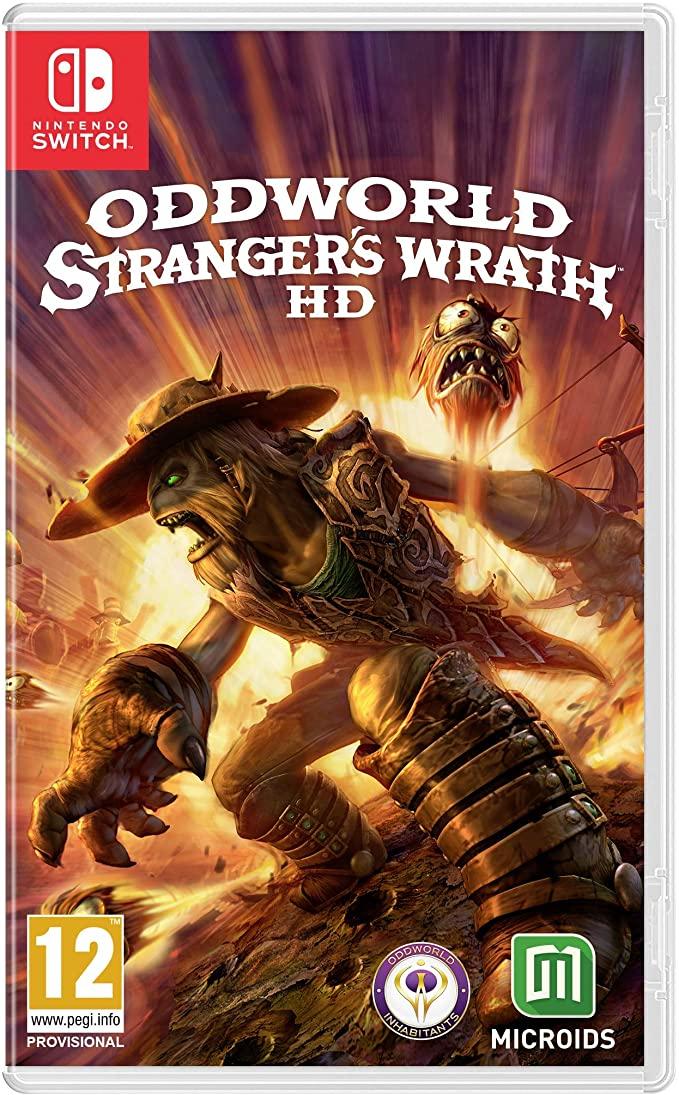 Switch Oddworld Stranger's Wrath solo 12€