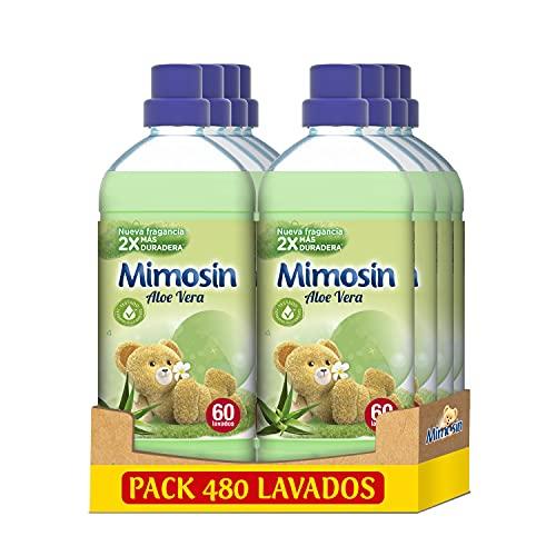 Mimosin Aloe Vera 60 lavados, Paquete de 8 x 1.2 l (480 lavados) Y mas modelos