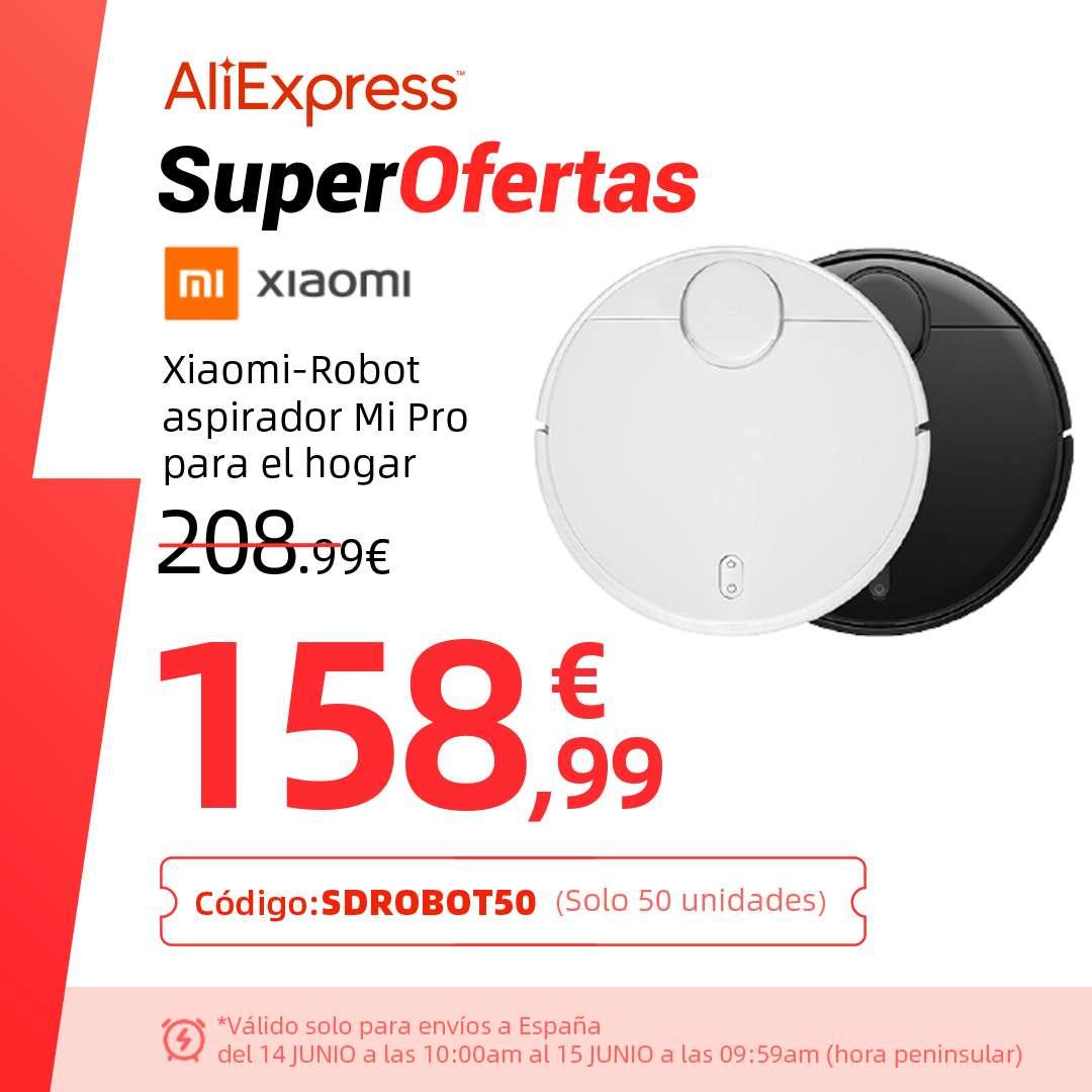Robot Xiaomi Pro desde España por 158,99€