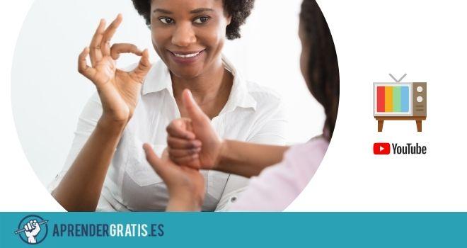 Curso de lengua de Signos (sordos)