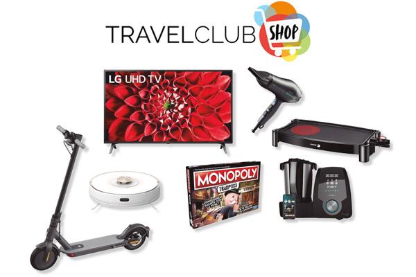 altavoz + auriculares por 1680 puntos de travel club