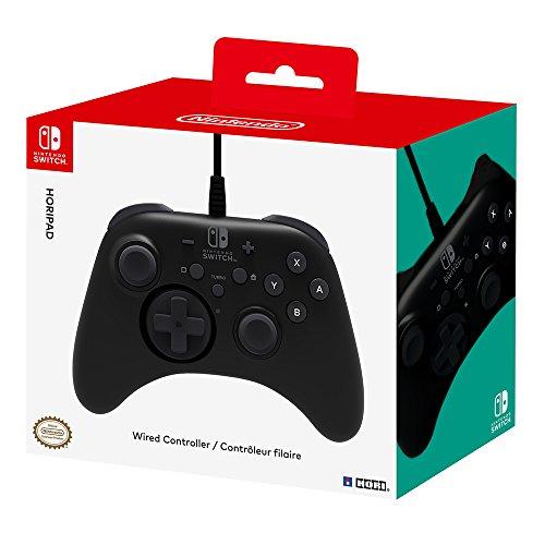 HORI - Horipad negro Nintendo Switch