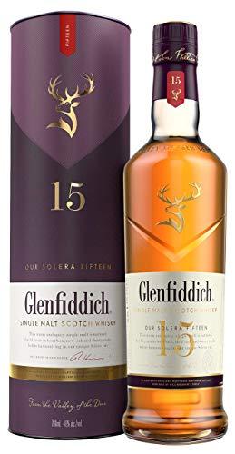 GLENFIDDICH Whisky escocés de malta 15 años botella 70 cl