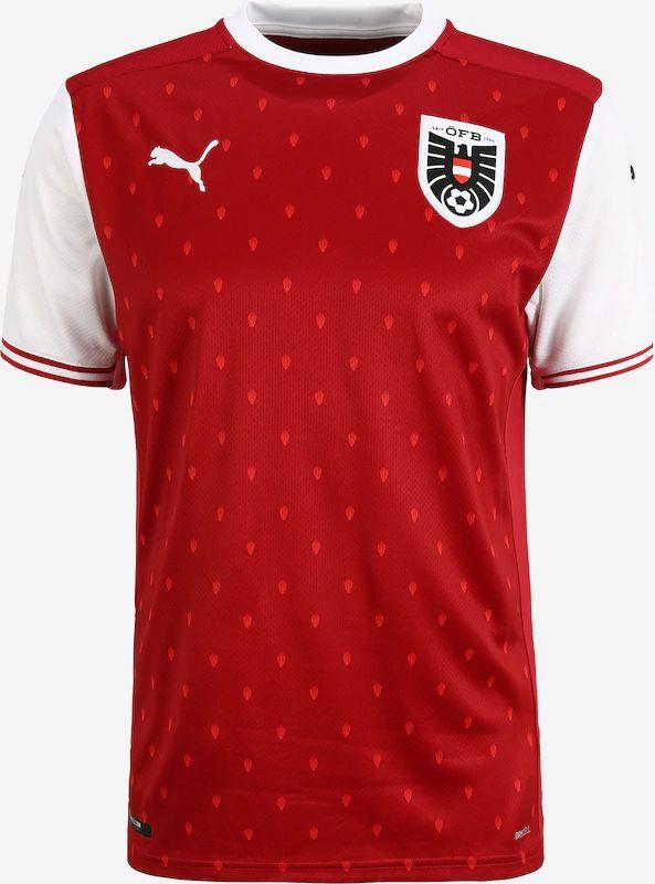 Camiseta futbol Austria. Tallas S a XL.
