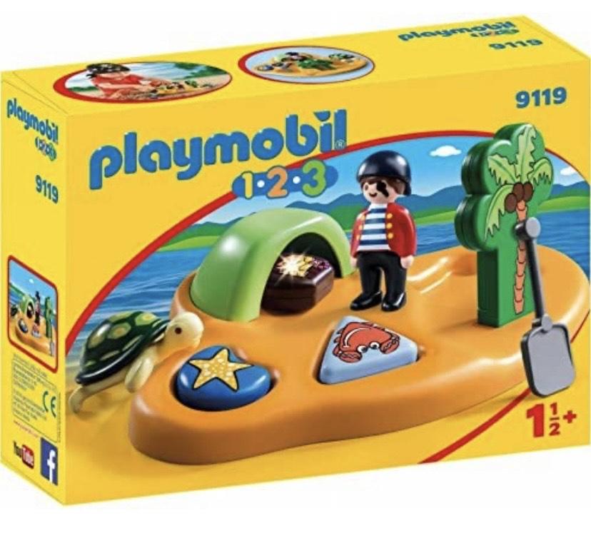 PLAYMOBIL 1.2.3- Isla Pirata