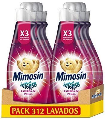 Mimosín Intense Suavizante Estallido De Pasión 52 Lavados - Pack de 6 (compra recurrente)
